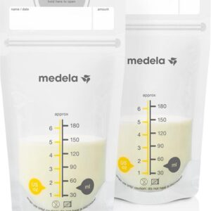 Medela moedermelk bewaarzakjes 180ml, 25 stuks